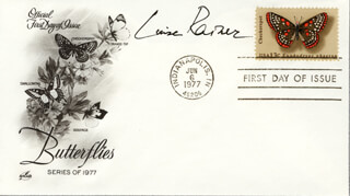 LUISE RAINER - FIRST DAY COVER SIGNED