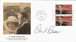 CARL REINER - FIRST DAY COVER SIGNED