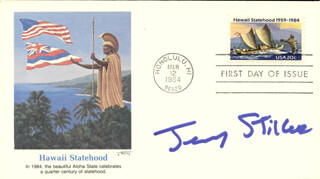 JERRY STILLER - FIRST DAY COVER SIGNED