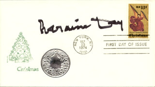 LARAINE DAY - FIRST DAY COVER SIGNED