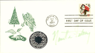 NANETTE FABRAY - FIRST DAY COVER SIGNED