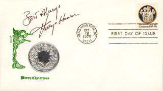 WINGS HAUSER - FIRST DAY COVER WITH AUTOGRAPH SENTIMENT SIGNED