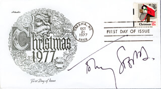 TOBY STEPHENS - FIRST DAY COVER SIGNED