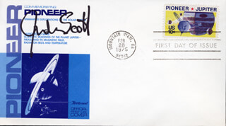 JUDSON SCOTT - FIRST DAY COVER SIGNED
