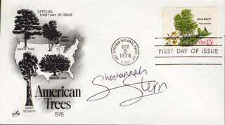 SHOSHANNAH STERN - FIRST DAY COVER SIGNED