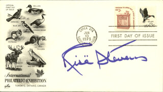 RISE STEVENS - FIRST DAY COVER SIGNED