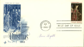 MAUREEN STAPLETON - FIRST DAY COVER SIGNED