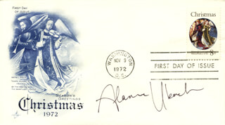 ALANNA UBACH - FIRST DAY COVER SIGNED