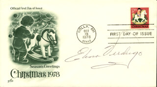 ELENA VERDUGO - FIRST DAY COVER SIGNED