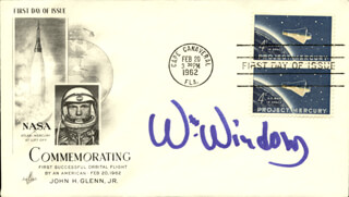 WILLIAM WINDOM - FIRST DAY COVER SIGNED