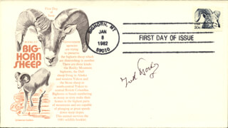 JACK WARDEN - FIRST DAY COVER SIGNED