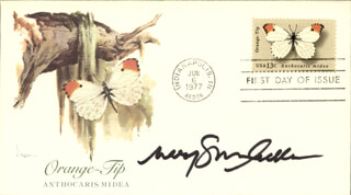MARY STUART MASTERSON - FIRST DAY COVER SIGNED