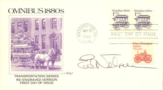 ED NELSON - FIRST DAY COVER SIGNED