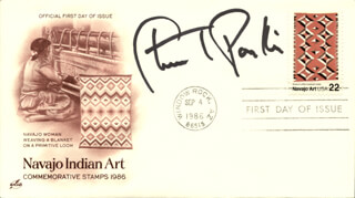 STUART PANKIN - FIRST DAY COVER SIGNED