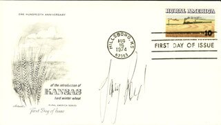 JERRY REED - FIRST DAY COVER SIGNED