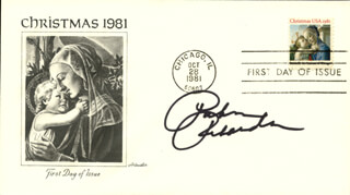 PATRICIA RICHARDSON - FIRST DAY COVER SIGNED