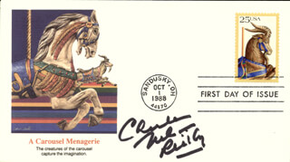 CHARLES NELSON REILLY - FIRST DAY COVER SIGNED