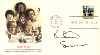 KURTWOOD SMITH - FIRST DAY COVER SIGNED