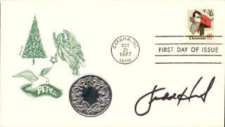 JUDD HIRSCH - FIRST DAY COVER SIGNED