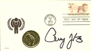 AMY JO JOHNSON - FIRST DAY COVER SIGNED