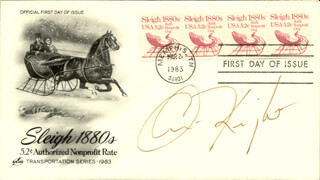 CHRIS KNIGHT - FIRST DAY COVER SIGNED