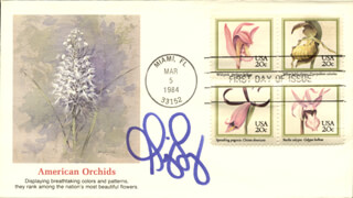 GINGER LYNN - FIRST DAY COVER SIGNED