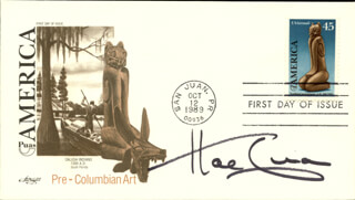 HAL LINDEN - FIRST DAY COVER SIGNED
