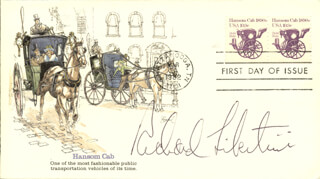 RICHARD LIBERTINI - FIRST DAY COVER SIGNED