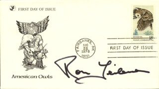 RON LEIBMAN - FIRST DAY COVER SIGNED