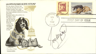 ROSE MARIE - FIRST DAY COVER SIGNED
