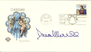 DINA MERRILL - FIRST DAY COVER SIGNED