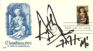 ANTHONY AZIZI - FIRST DAY COVER SIGNED
