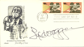 LYLE WAGGONER - FIRST DAY COVER SIGNED