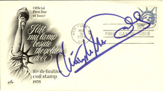 CHRISTOPHER McDONALD - FIRST DAY COVER SIGNED
