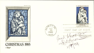 BISHOP DESMOND TUTU - FIRST DAY COVER WITH AUTOGRAPH SENTIMENT SIGNED 02/04/2004