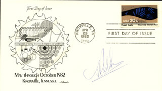 MARTINUS J. G. VELTMAN - FIRST DAY COVER SIGNED