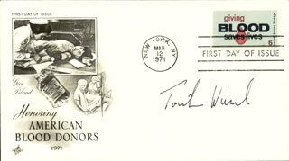 TORSTEN N. WIESEL - FIRST DAY COVER SIGNED