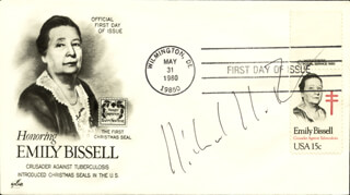 Autographs: RICHARD R. ERNST - FIRST DAY COVER SIGNED
