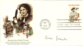 Autographs: BRIAN D. JOSEPHSON - FIRST DAY COVER SIGNED