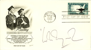 WOLE SOYINKA - FIRST DAY COVER SIGNED