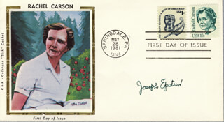 JOSEPH EPSTEIN - FIRST DAY COVER SIGNED