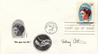 Autographs: SIDNEY ALTMAN - FIRST DAY COVER SIGNED