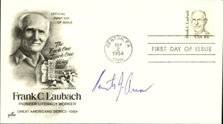 KENNETH J. ARROW - FIRST DAY COVER SIGNED