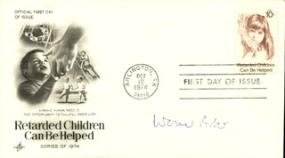 Autographs: WERNER ARBER - FIRST DAY COVER SIGNED