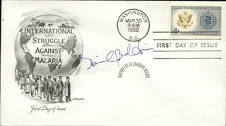 Autographs: DAVID BALTIMORE - FIRST DAY COVER SIGNED