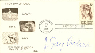 Autographs: J. GEORG BEDNORZ - FIRST DAY COVER SIGNED