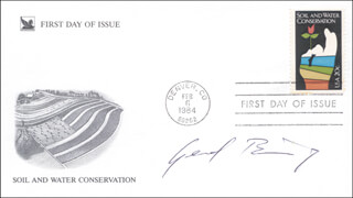 GERD K. BINNIG - FIRST DAY COVER SIGNED