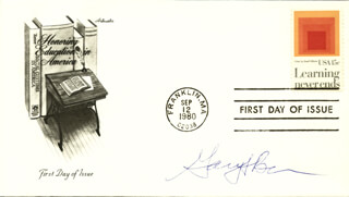 GARY S. BECKER - FIRST DAY COVER SIGNED