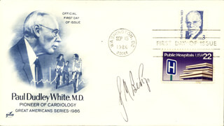 J. MICHAEL BISHOP - FIRST DAY COVER SIGNED