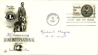 MAIREAD CORRIGAN MAGUIRE - FIRST DAY COVER SIGNED 05/18/2004